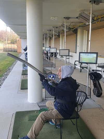 Golfing While Sitting