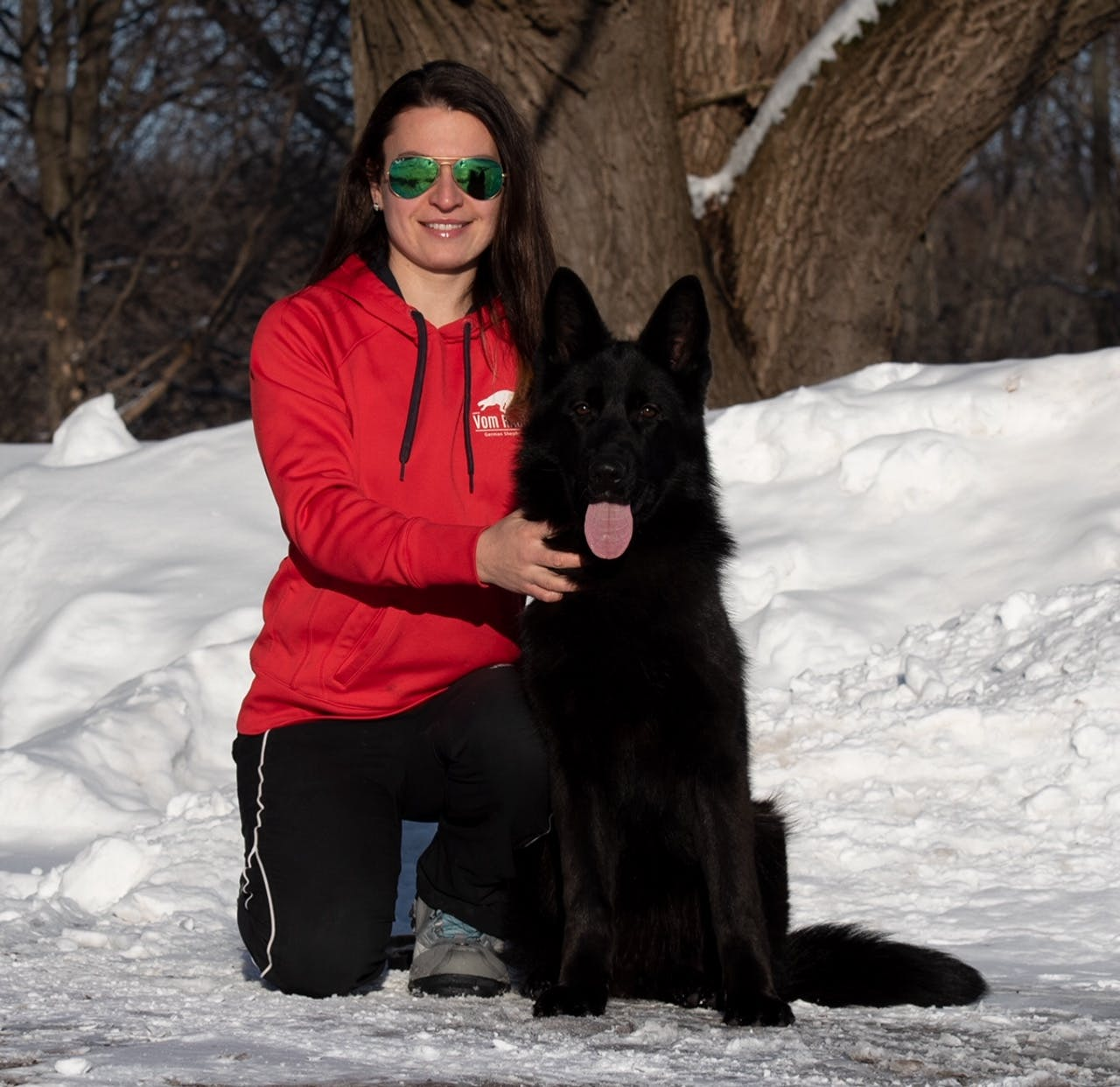 Natasha ( Vomragnar - Chicago GSD Dog Breeder )
