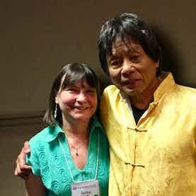 Jarka Pajk and Dr. Kam Yuen DC