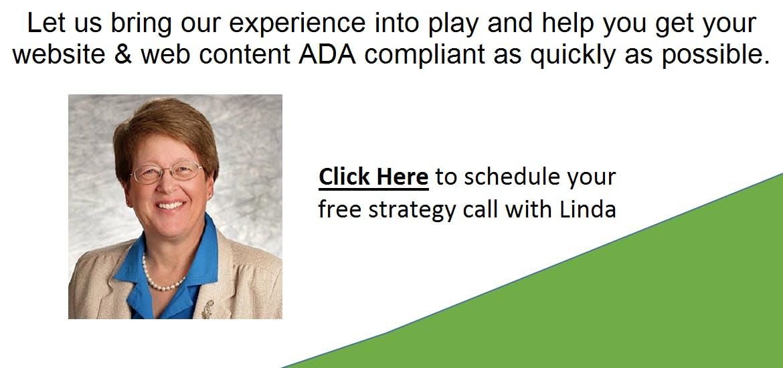 ADA Compliance - Contact Linda