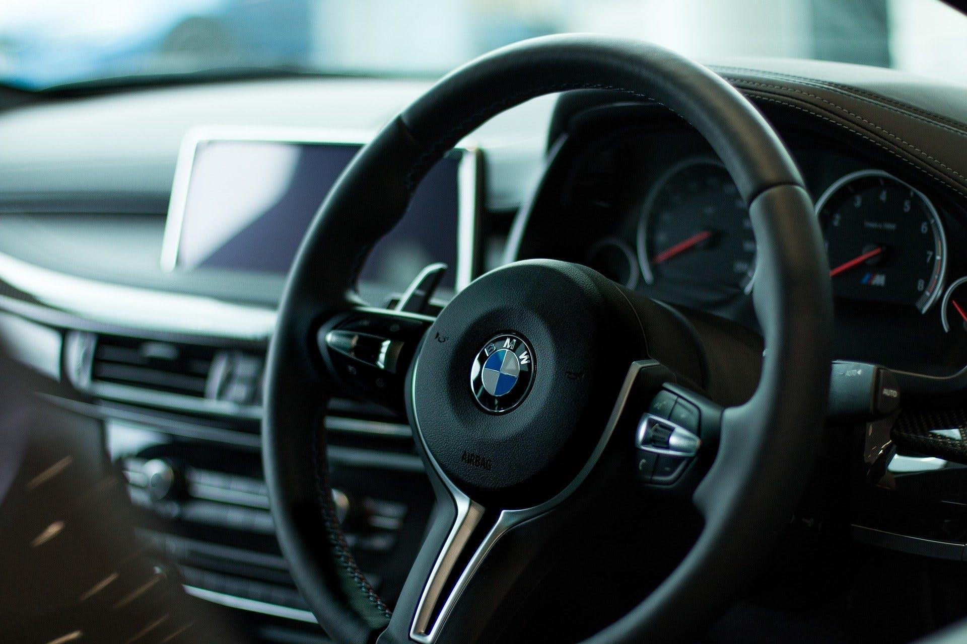BMW Case Study Steering Wheel Image