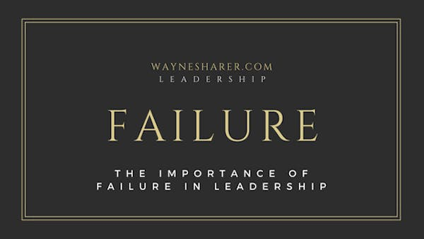 Failure in Leadership Development
