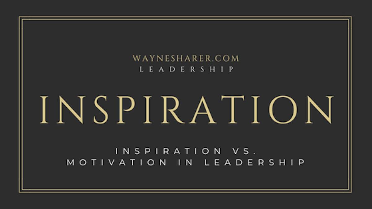 inspiration in leadership development