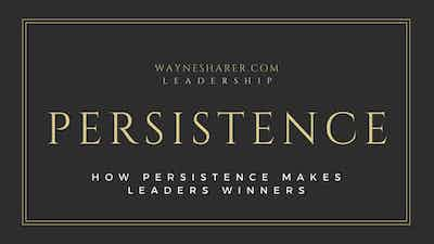 How Persistence Makes Leaders Winners
