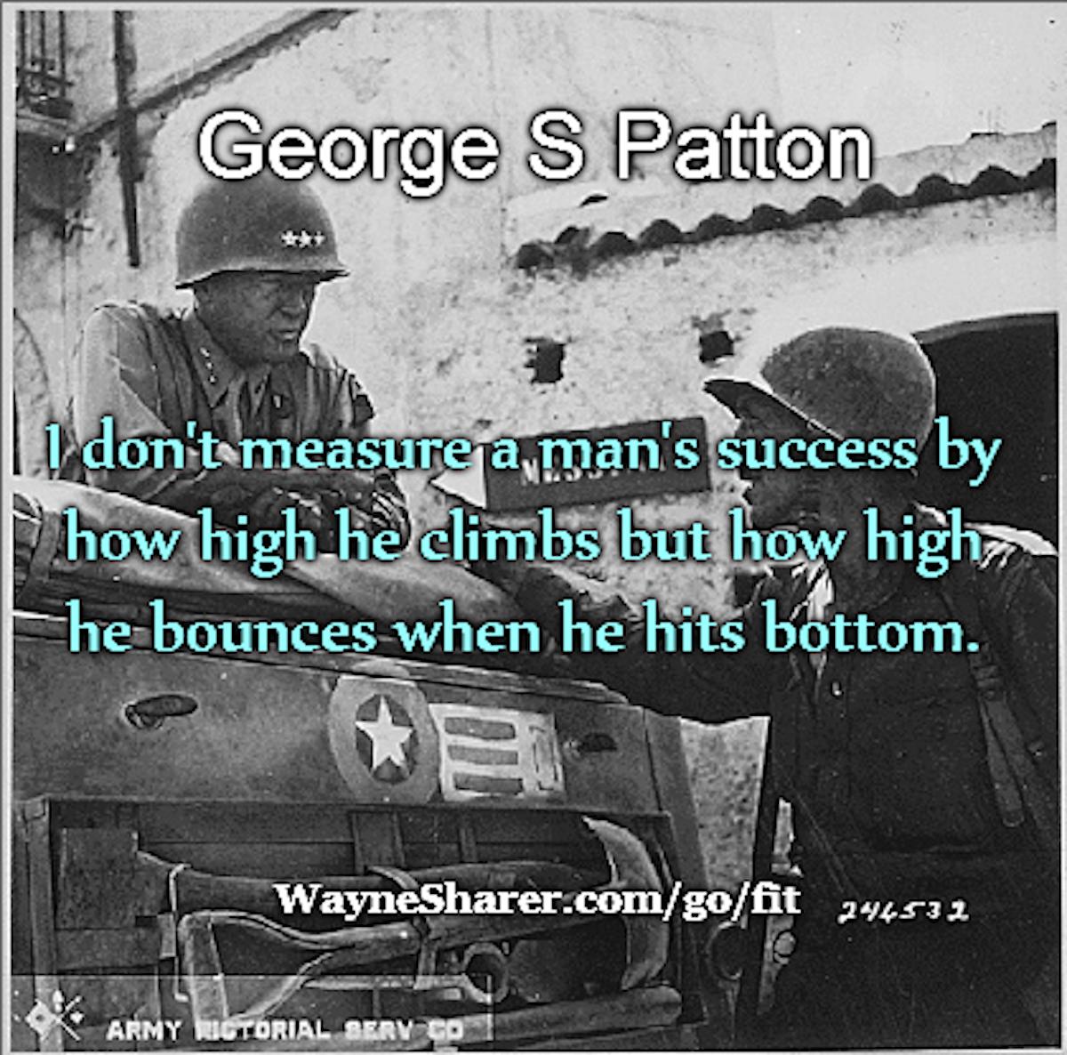 George Patton Success