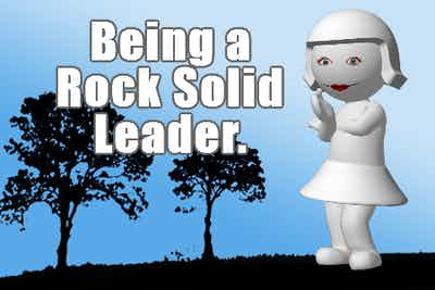 How to Be a Rock Solid Leader: Conquering Fear