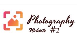 Photography Website #2