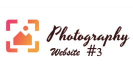 Photography Website #3