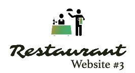 Restaurant Website #3