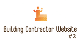 Building Contractor Website #2