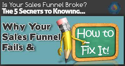 The 5 Secrets to Knowing Why Your Sales Funnel Fails & How to Fix It