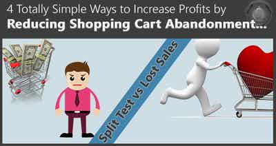 The 4 Easiest Order Form Split Tests to Reduce Shopping Cart Abandonment