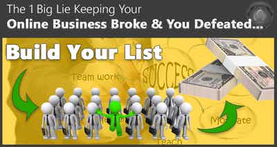 The Single Biggest List Building Fallacy Keeping You Broke