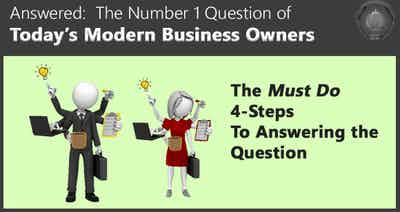 Answered: The #1 Question Asked by Business Owners