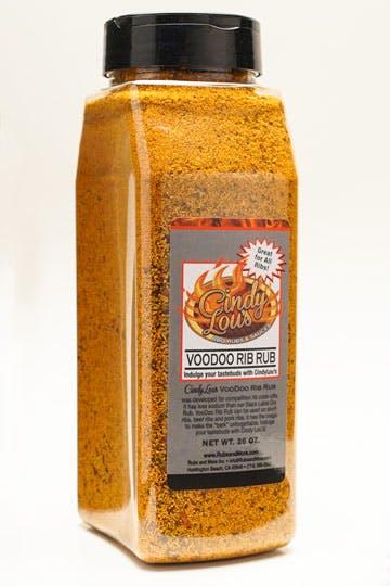 VooDoo BBQ Rib Rub
