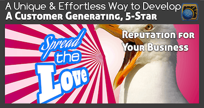 A Unique and Effortless Way to Develop a Customer Generating 5-Star Reputation for Your Business