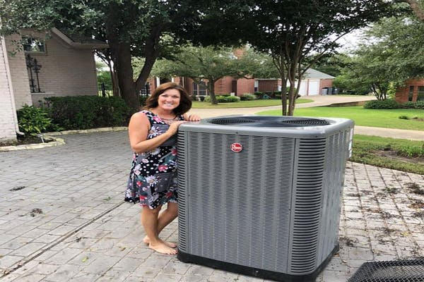 AC repairs we completed in Dallas, TX