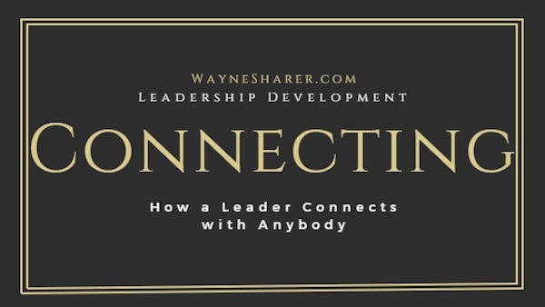 How Leaders Connect