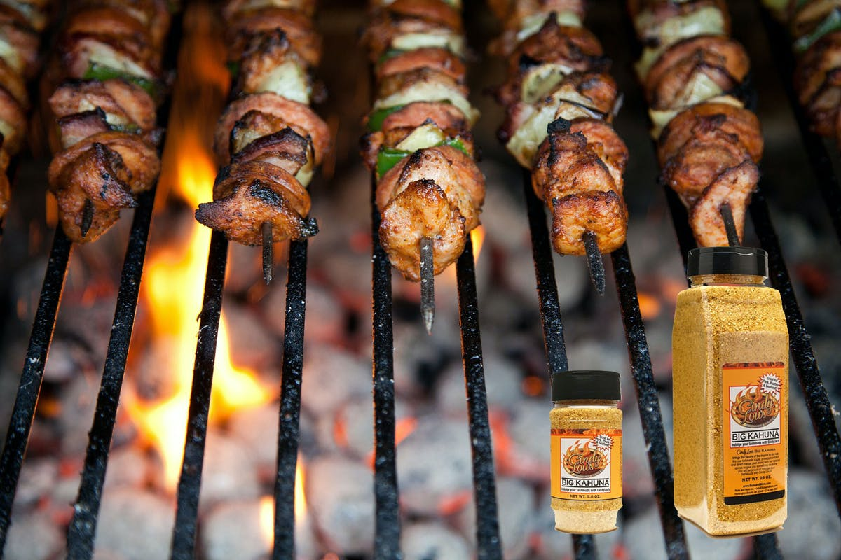 Kabobs on the Barbeque