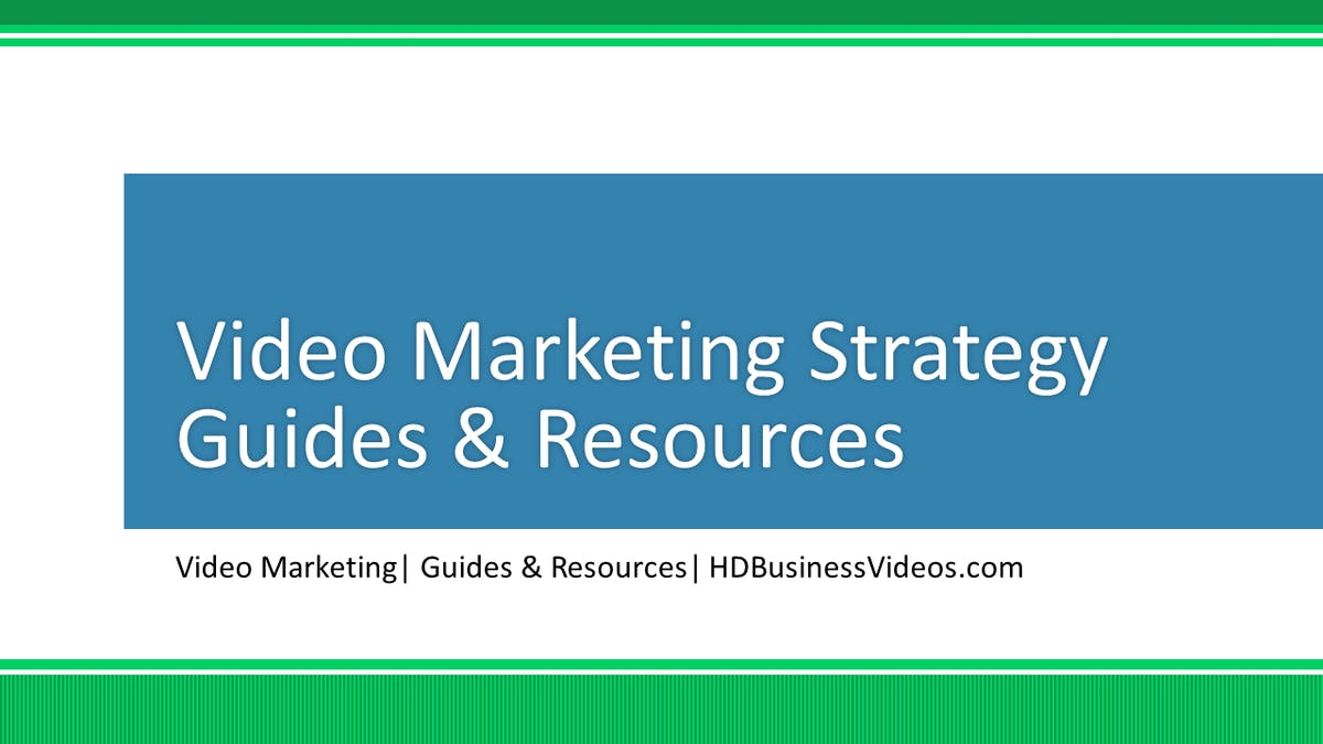Video Marketing Guides