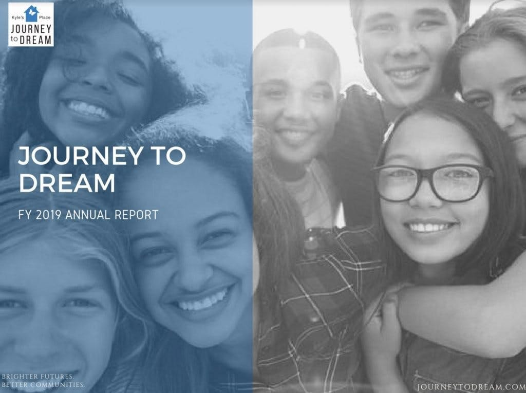 Journey to Dream 2019 Annual Report