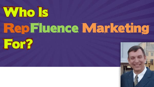Who is RepFluence Marketing For