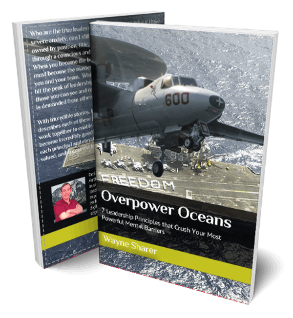 Overpower Oceans by Wayne Sharer