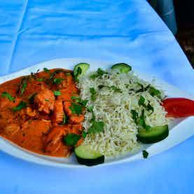 Chicken Curry mit Reis
