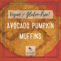 Avocado Pumpkin Muffins