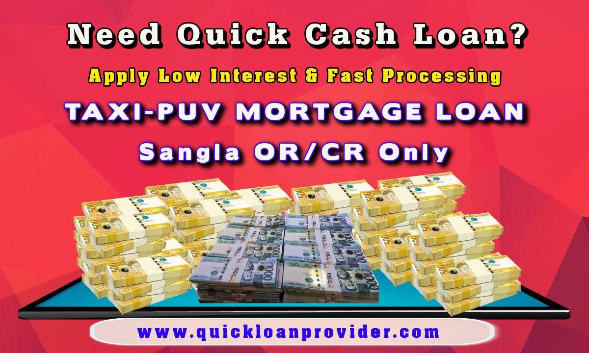 TAXI-PUV Mortgage Loan