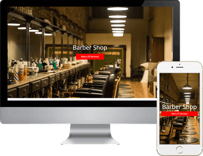 Barber Shop Template 5