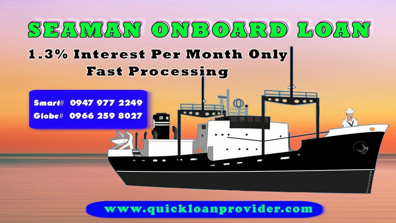 Seaman Onboard Loan Worldwide by Quickloanprovider.com