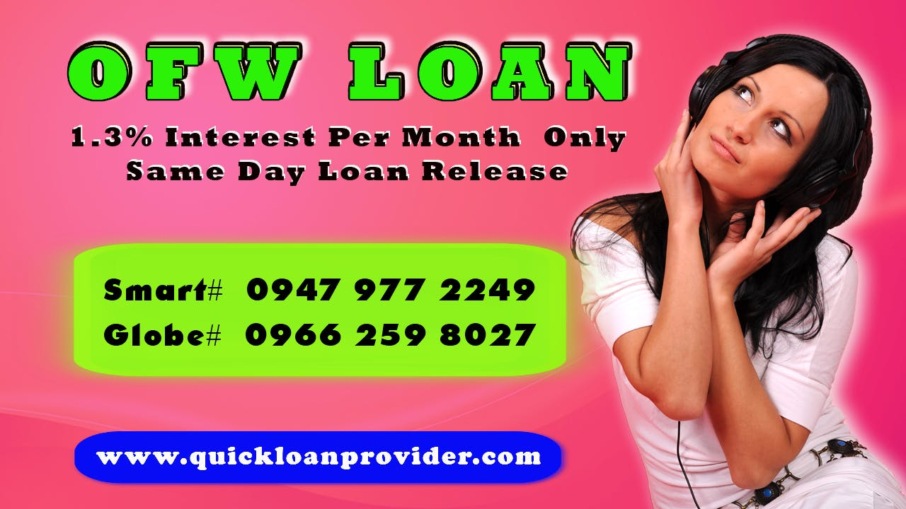 OFW Loan Philippines by Quickloanprovider.com