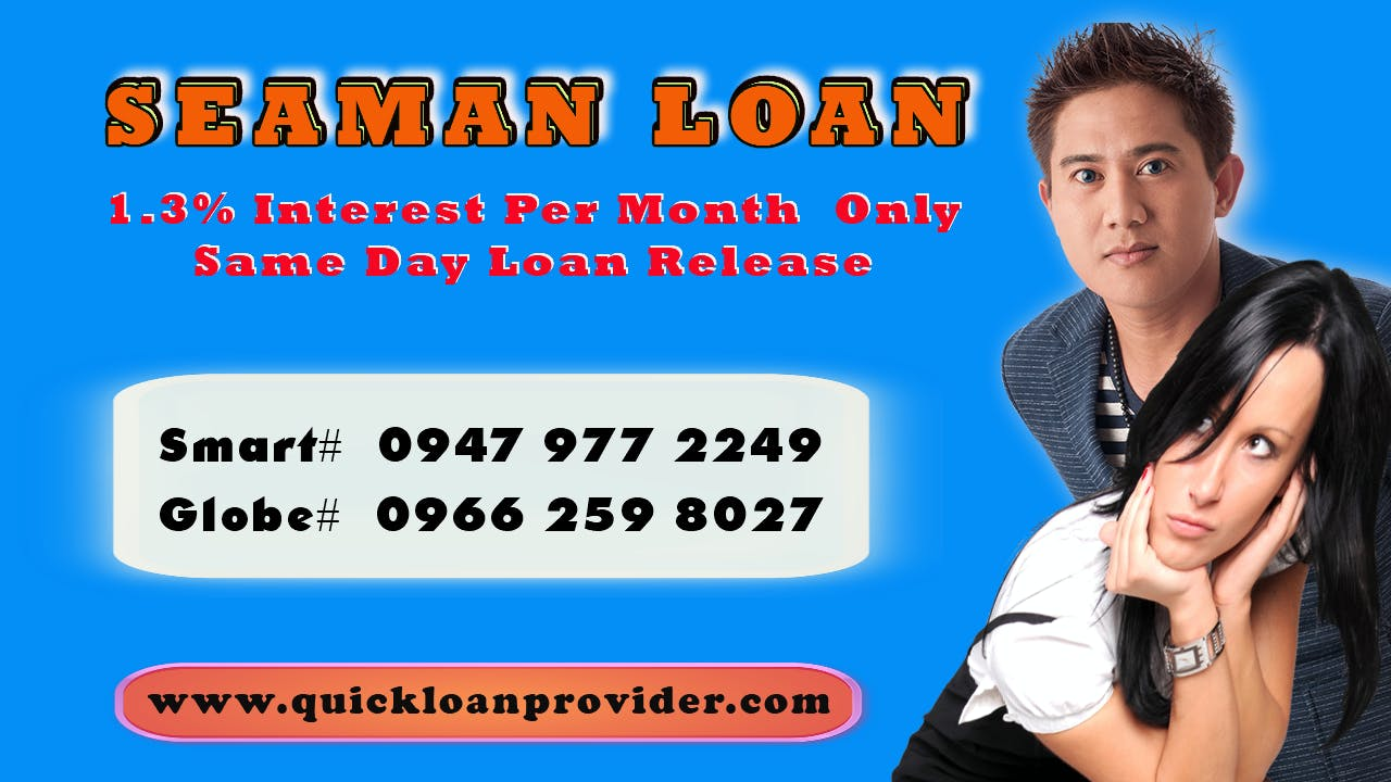 Seaman Loan Philippines by Quickloanprovider.com