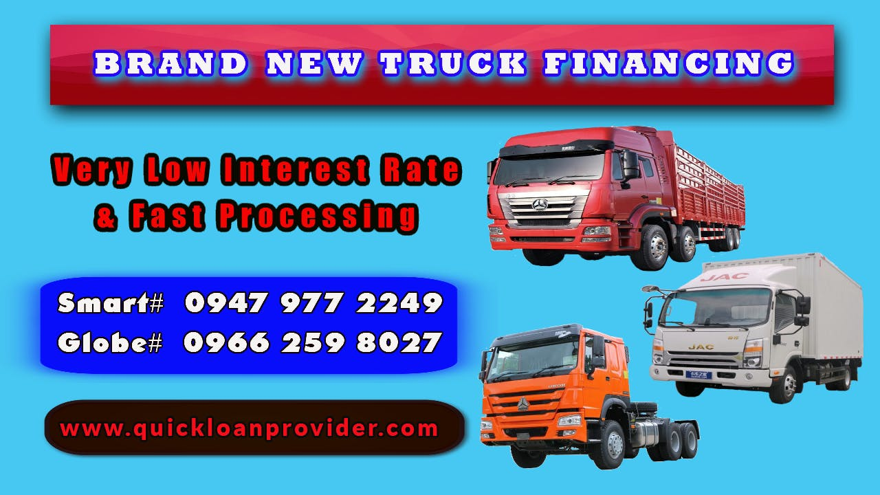 Brand new truck financing image