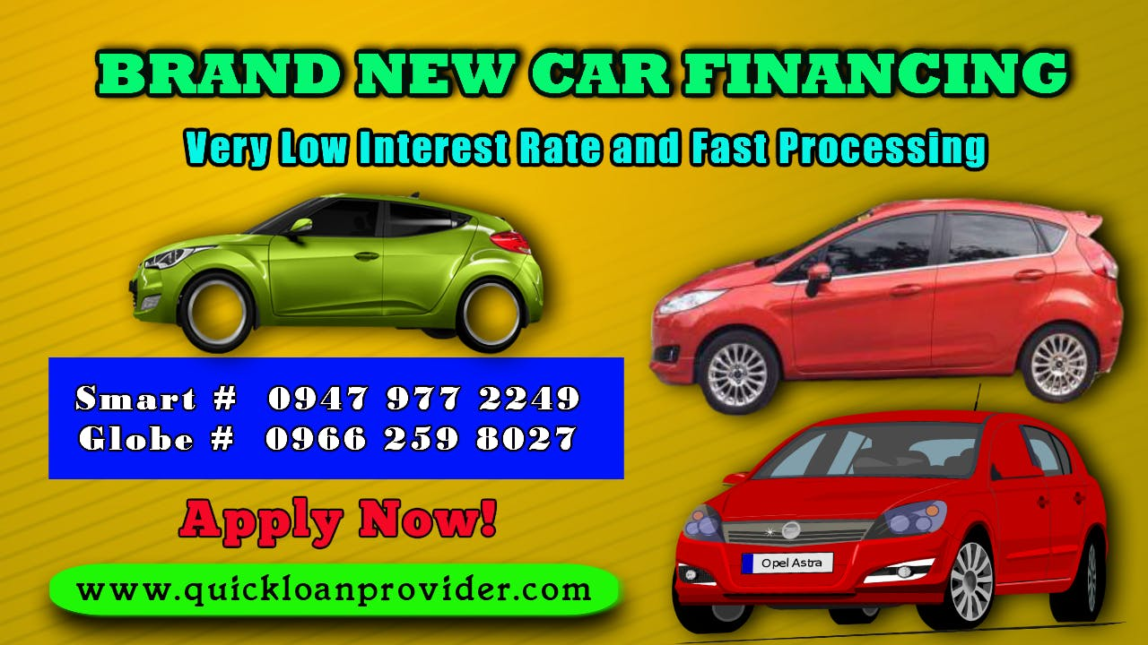 Brand New Car Financing Image, Quickloanprovider.com