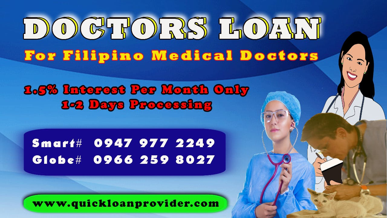 Doctors Loan Philippines by Quickloanprovider.com