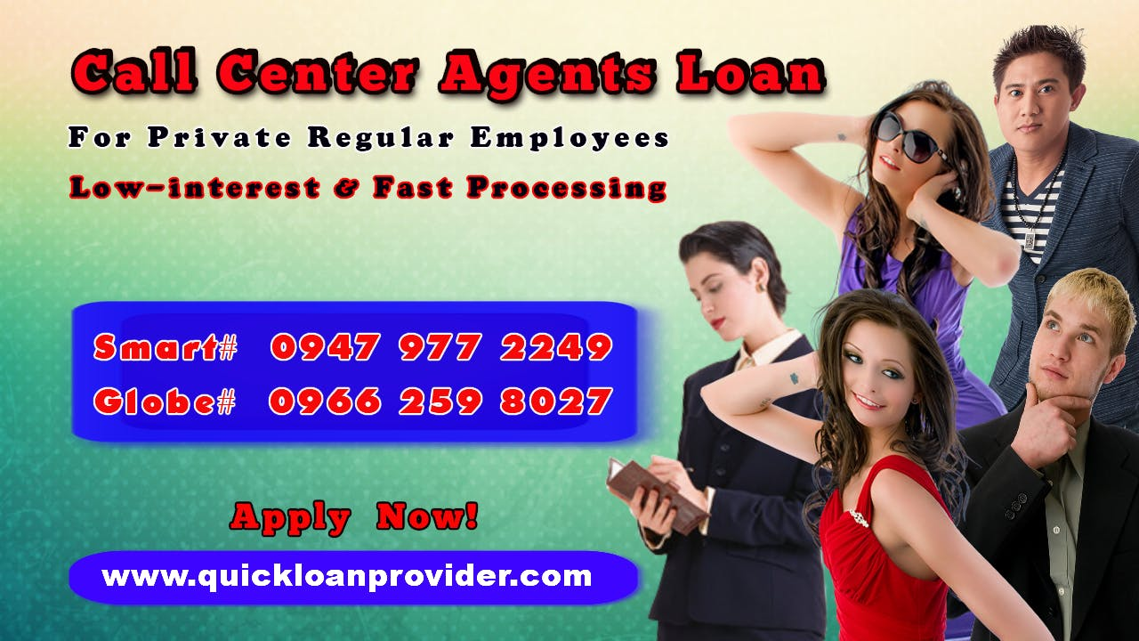 Call Center Agents Loan by Quickloanprovider.com