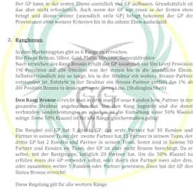 Marketingplan der GGM Trading GmbH Wien-1
