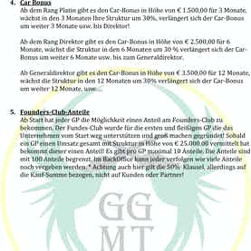 Marketingplan der GGM Trading GmbH Wien-3