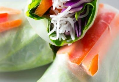Fresh Salad Rolls