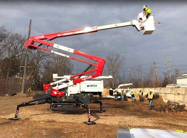 Spider Lift Aerial Work Platform