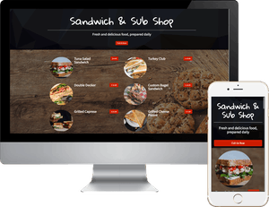 Sandwich and Sub Food Ordering