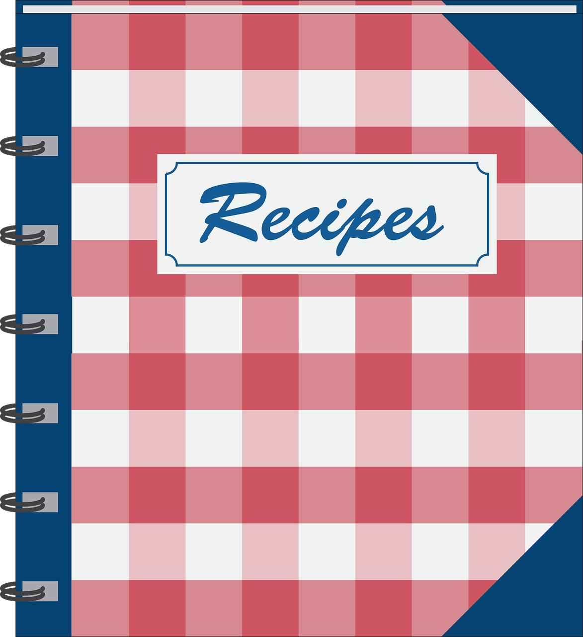 Amy Recipe Book Template