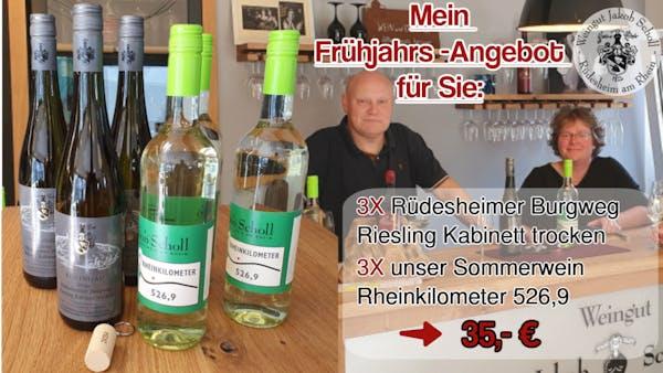 Frühjahrsangebot Weingut Jakob Scholl