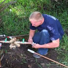 Bowersox Plumbing At Work