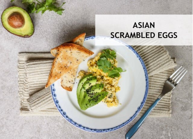 www.FITYOUCOMPLETE.com Asian Scrambled eggs