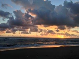 Italy Beach Sunset