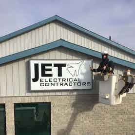 Jet Electrical Contractors shop in Gananoque