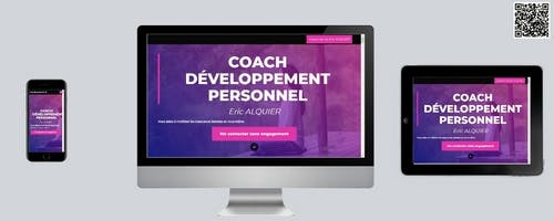 Site Internet Eric Alquier Coaching